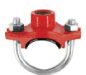 ข้อต่อท่อดับเพลิง U-Bolt Mechanical Tee